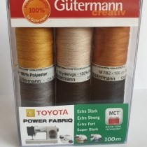 Thick Sewing thread set Gutermann 6 spools