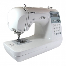 Brother innovis NV 55 sewingmachine: 135 stitches and 10 buttonholes