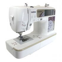 New model Brother 955 computerized sewingmachine that also does embroidery