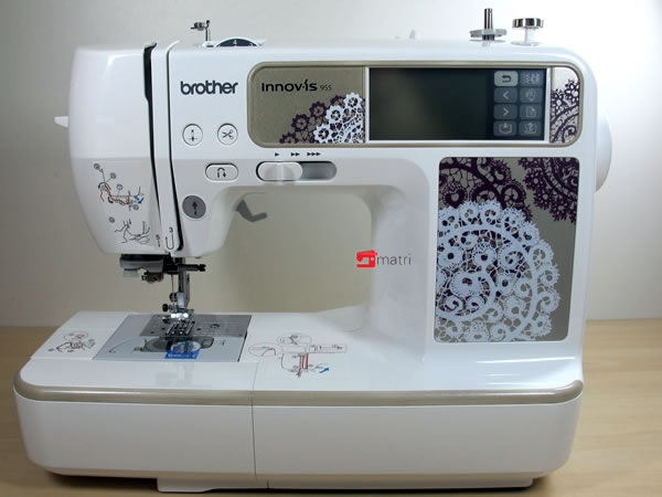 new model brother 955 computerized sewingmachine that also. Black Bedroom Furniture Sets. Home Design Ideas