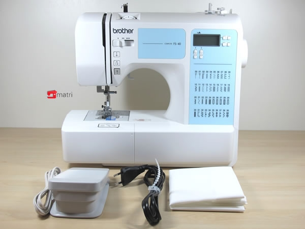 brother fs 40 sewingmachine free and quick delivery matri sewingmachines. Black Bedroom Furniture Sets. Home Design Ideas