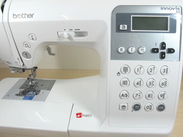 brother innovis nv 55 sewingmachine 135 stitches and 10 buttonholes matri sewingmachines