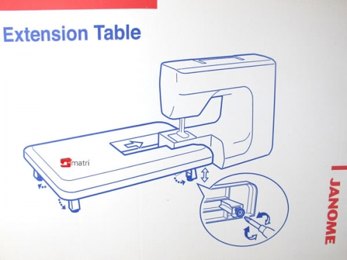 Extension table janome-punch