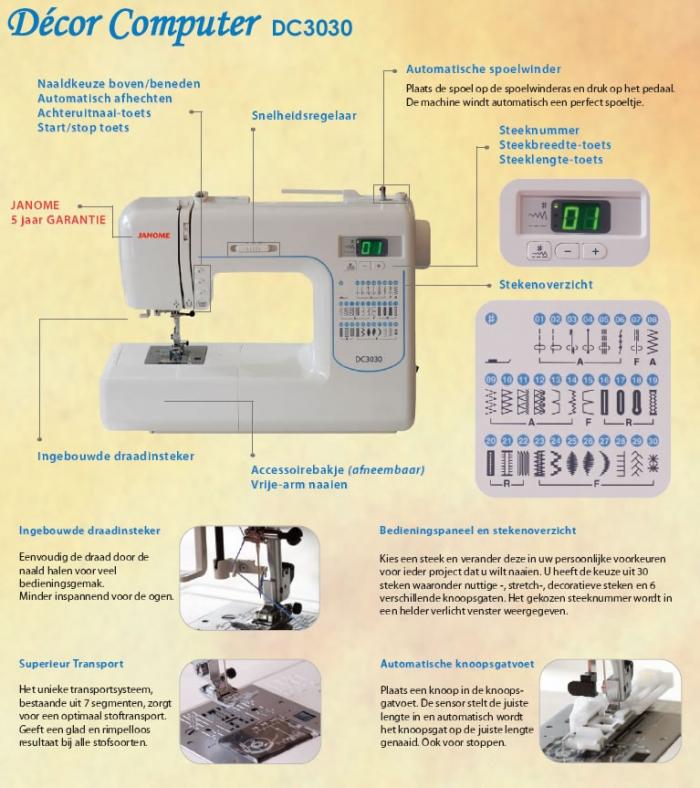 3030 sewing machine
