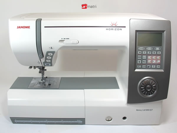 janome horizon memory craft 8900 qcp matri sewingmachines