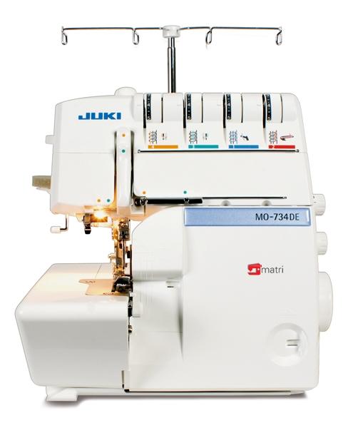 juki overlocker mo 734de matri sewingmachines rh en matri eu Juki Industrial Serger Sewing Machines Juki Sergers Sewing Machines