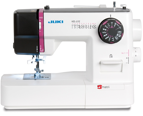 juki sewingmachine hzl 27z industrial perfection at home. Black Bedroom Furniture Sets. Home Design Ideas