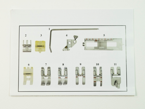 Matri sewing feet set pfaff IDT