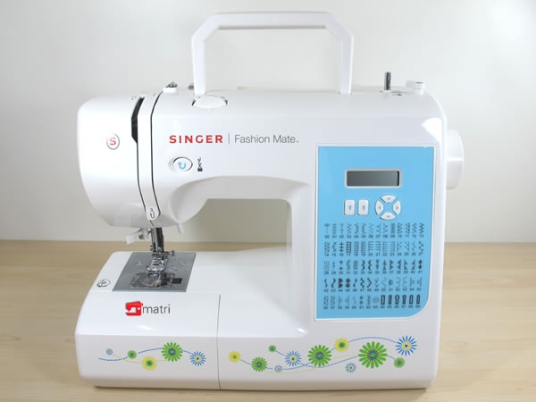 singer fashion mate 7256 electronic sewing machine with 70. Black Bedroom Furniture Sets. Home Design Ideas
