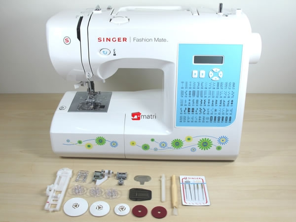 Singer Fashion Mate 40 Electronic Sewing Machine With 40 Stitches Simple Singer 7256 Fashion Mate 70 Stitch Sewing Machine