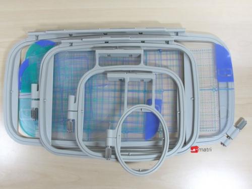 Embroidery hoop kit 4