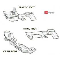 Overlock feet 3 piece