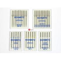 Various Schmetz sewingmachine needles