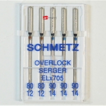 Schmetz ELx705 Assorted Needles 80-90