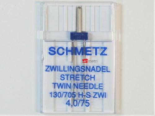 Schmetz  twin needle 4 / 75