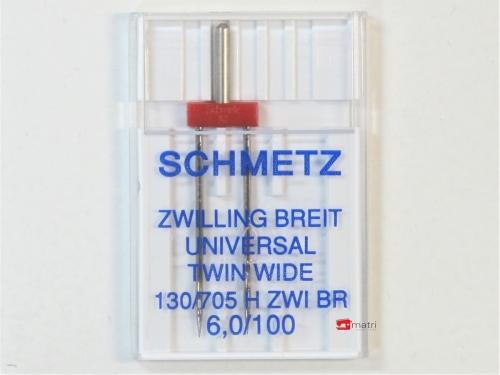 Schmetz Twin needle 6 / 100